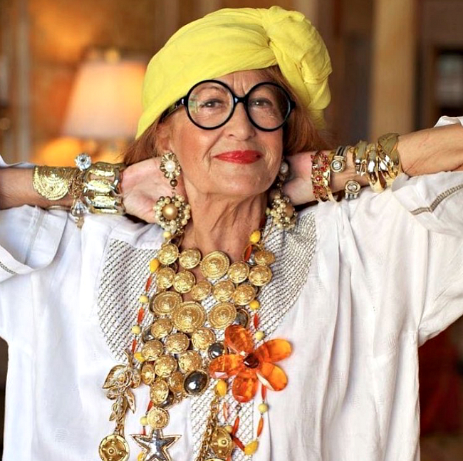 Elderly Fashionista: What Do You Suppose A True Fashionista