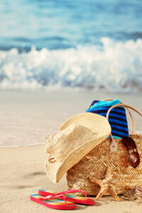fashion accessories for the beach