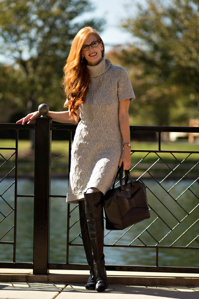 elegantly-dressed-and-stylish-sweater-dress